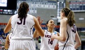 NCAA Womens Basketball: NCAA Tournament-2nd Round-St Josephs Hawks vs Connecticut