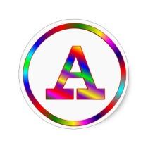 Rainbow-Letter
